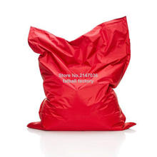 RED Color outdoor bean bag chair – home furniture – beanbag sofa beds