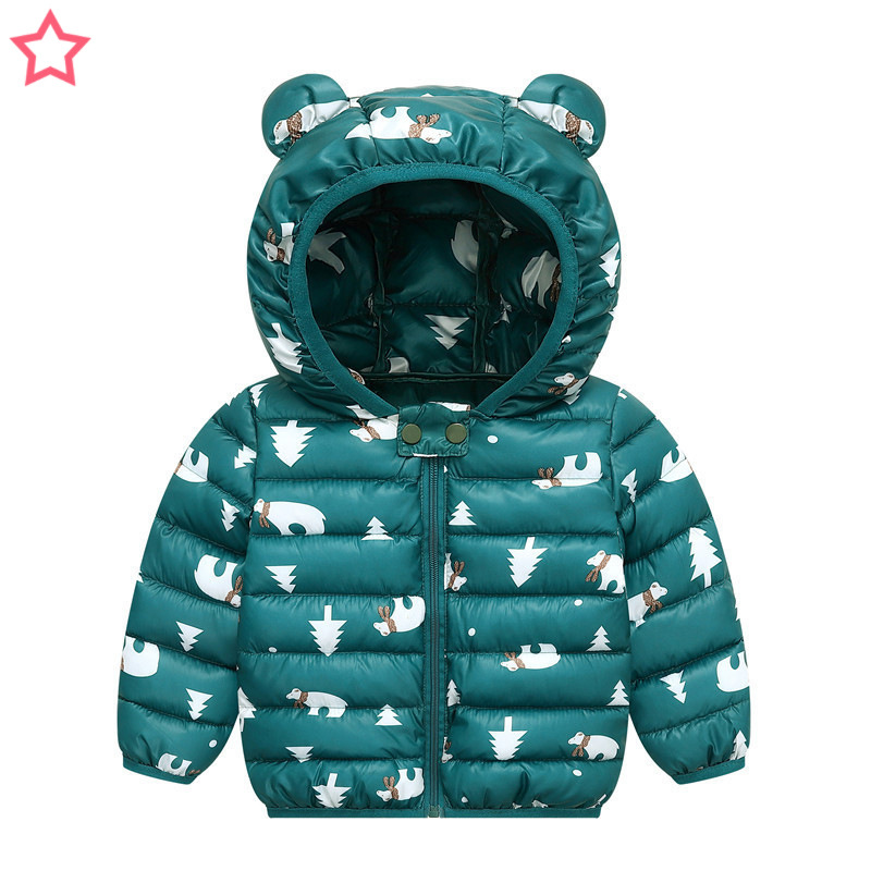 Jacket Coat Thickwinter Baby Children's Light And Cotton Men Women