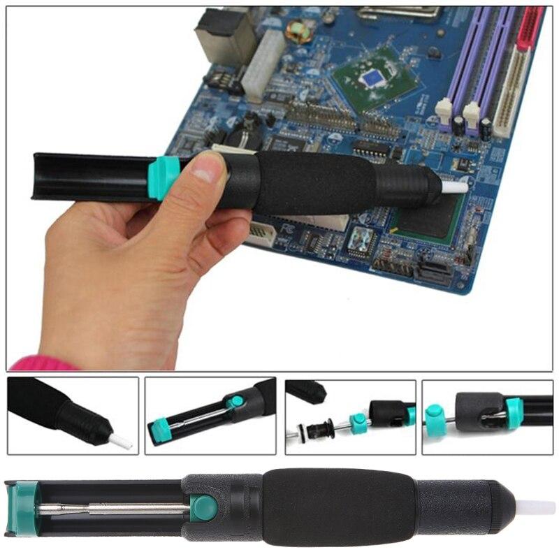 Desoldering Solder Sucker Soldering Pump Suction Tin Gun Vacuum Removal Tool Great Value