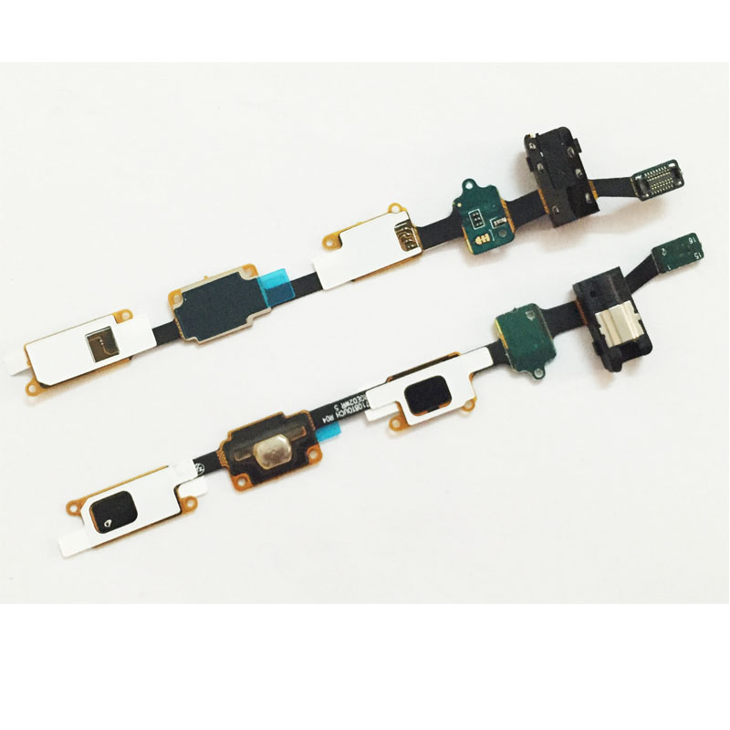 Original Home Button Earphone Jack Flex Cable For Samsung Galaxy J7 J710 2016 Replacement image