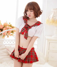 British wind drape kilt Sexy Lingerie Student Uniform Temptation sexy lingeries women Japanese students costumes sexy