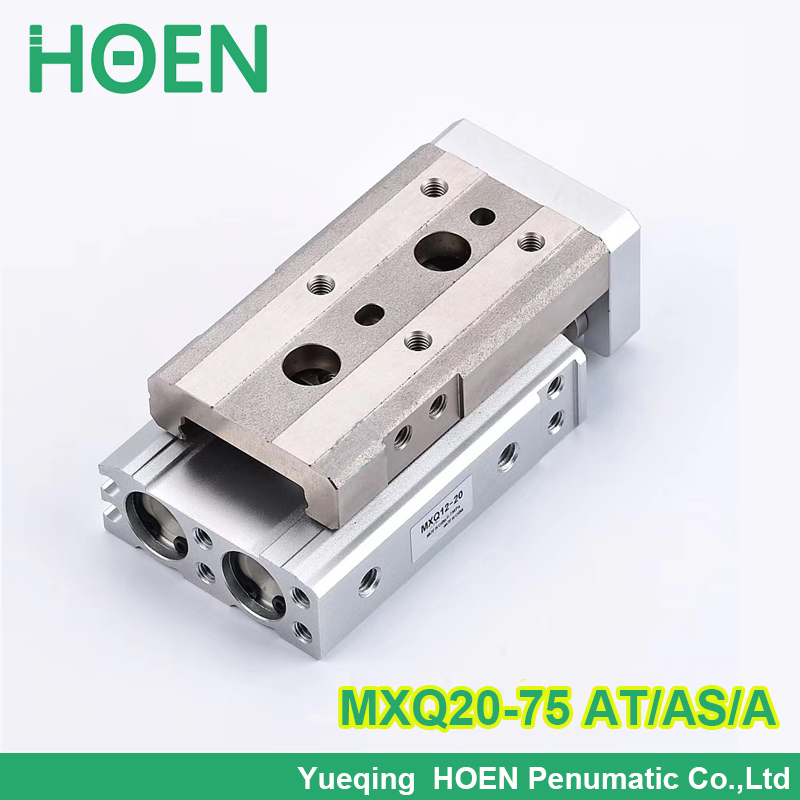 MXQ20-75 AS-AT-A  MXQ series Slide table Pneumatic Air cylinders  pneumatic component air tools MXQ slide cylinderMXQ20-75 AS-AT-A  MXQ series Slide table Pneumatic Air cylinders  pneumatic component air tools MXQ slide cylinder