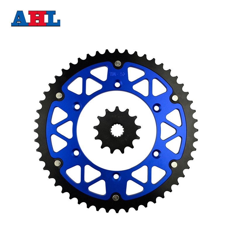 Motorcycle Parts 52-13 T Front & Rear Sprockets Kit for YAMAHA WR125 WR 125 1999-2003 YZ125 YZ 125 1999-2004 Gear Fit 520 Chain