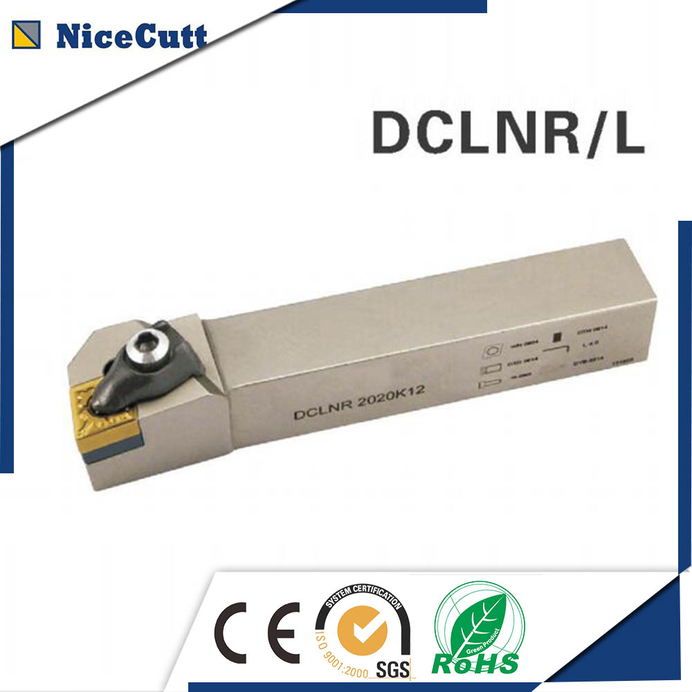 ФОТО DCLNR3232P12 Nicecutt External Turning Tool Holder for CNMG insert Lathe Tool Holder