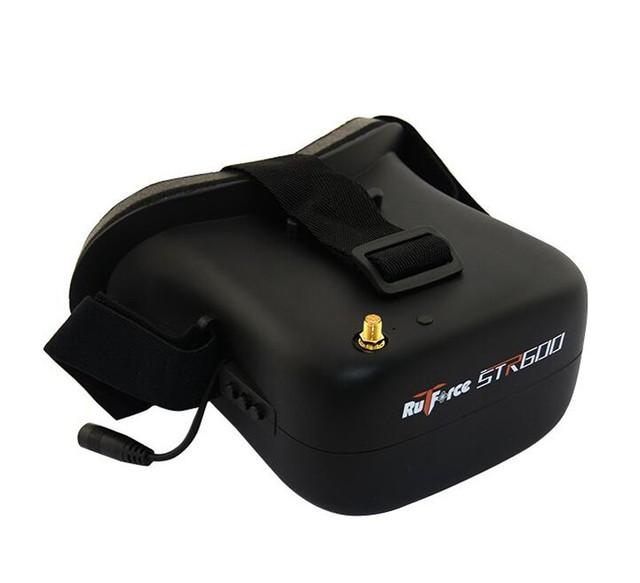 Rutforce Str600 gafas de Video FPV fotografía Aérea 5.8G 40CH recibir selección multi-idioma para las carreras de FPV