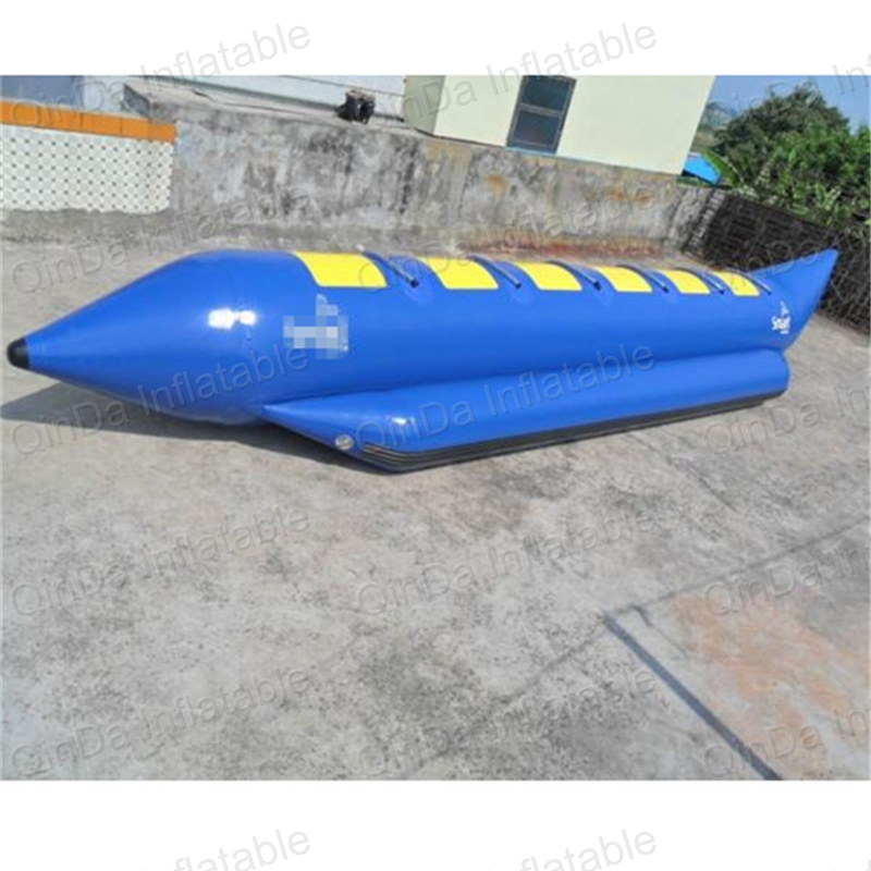 4 Seats Inflatable Surf Boat One Tube Inflatable Water Game Inflatable Flyfish Banana Boat Fish Tube For Advanture
