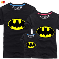 AD 1pcs Batman Family Matching Clothes Mommy And Me Mother Daughter Father Son Matching Clothes