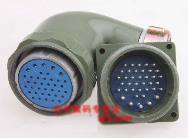 ФОТО Yd48 38 core connector yd48k38tr ts yd48j38z elbow waterproof air plug set