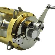 Prime High quality Alu Machined 2 velocity Boat fishing reel 80w CNC large recreation reel trolling reels