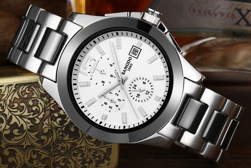 Free shipping 40mm Sangdo Business watch Automatic mechanical movement Waterproof watch High quality Men s watch
