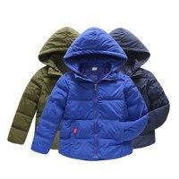 New Kids Winter Jacket For Girl Warm Hooded Down jackets For Boys Jacket Teens Girls Coat Children Winter Clothing Boys Coat