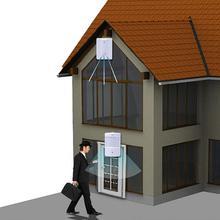Doorbell Simple Design Wireless Alarm Doorbell Loud Sound Volume Door Bell Ding Dong doorbells Remote Motion