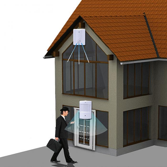 Doorbell Simple Design Wireless font b Alarm b font Doorbell Loud Sound Volume Door Bell Ding
