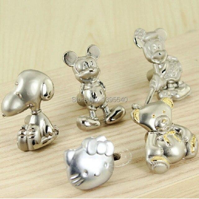 Buy 2x cartoon children cabinet drawer for Children s bureau knobs