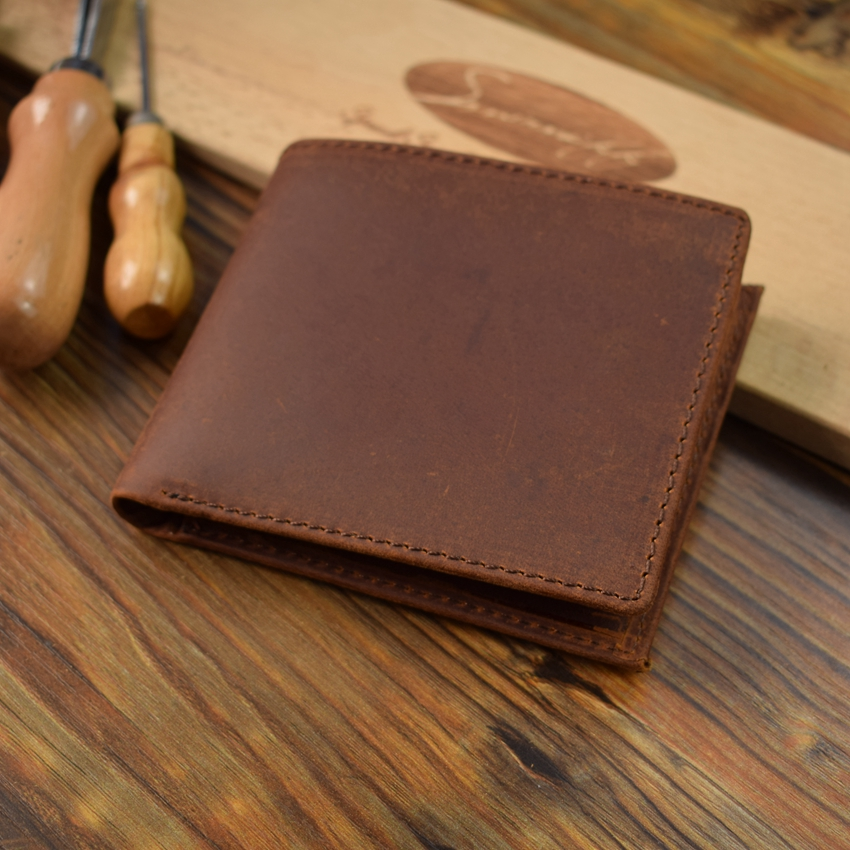 High Quality Leather Men Wallet Small Men Walet Zipper Male Portomonee Short Coin Purse Combat Perse Carteira