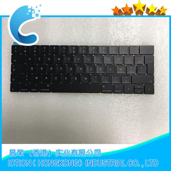 Original New A1706 Keyboard FR French AZERTY for Apple Macbook 13 A1706 French AZERTY Keyboard Late 2016 Mid 2017 Year new azerty for asus f8p clavier french keyboard