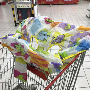 Cover Shopping-Cart-Cover Trolley Protection Dining-Chair Supermarket Baby Reusable Infant