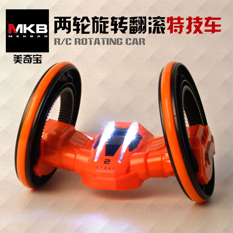 Mini rounds stunt rc car shock resistant remote control car Novelty rc car toys gift for kid children