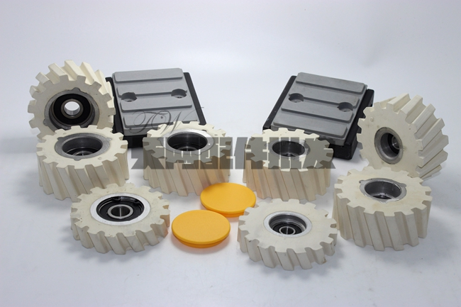 Woodworking Machinery Fittings South Edge Machine Conveying Roller Chain Block Special Offer