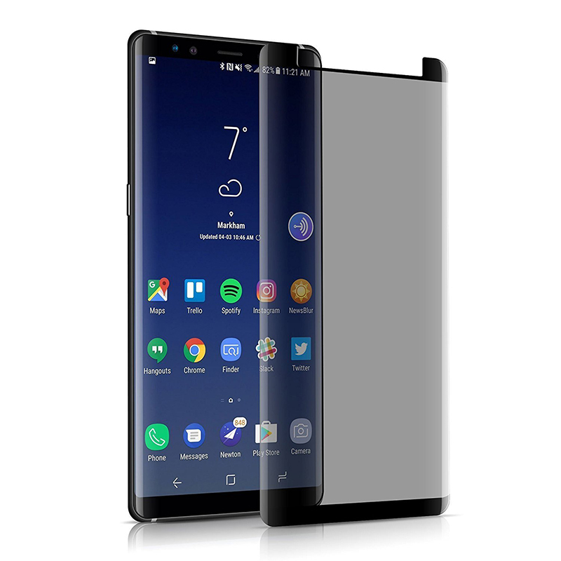 Suntaiho Anti-peeping Tempered Glass For Samsung galaxy S9 plus note9 Anti-peeping Screen Protector For Samsung note8 S8P film