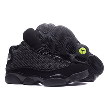 09d2e2e152d TSDFC JORDAN 13 Basketball Shoes Retro Black Cat Sneaker He Got Game Men  Outdoor