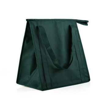 Eco Friendly Reutilizável não-tecido Sacos de Almoço Térmica de Grande Capacidade de Viagem Portátil Refrigerador Lancheira Isolados