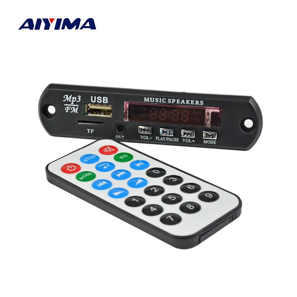 Tragbares Audio & Video Gut Aiyima 12 V Bluetooth 4,2 Audio Mp3 Decoder Board Dac Ape Wma Wav Fla Audio Dekodierung Usb Soundkarte Fm Kopfhörer Gute QualitäT