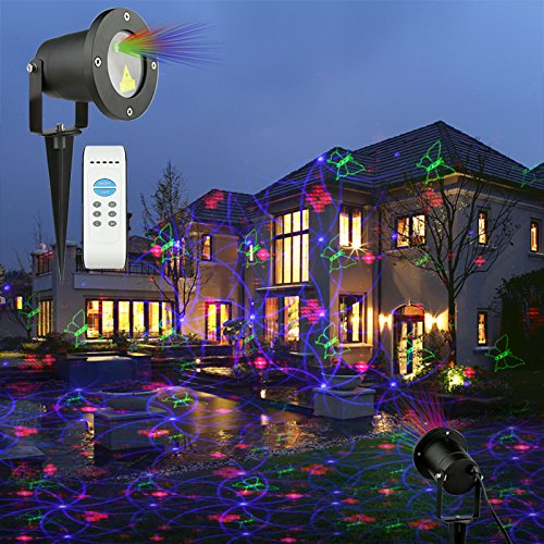 Laser Christmas Lights.Us 163 99 Laser Christmas Lights Led Laser Light Projector Garden Laser Light For Holiday House Decorations In Led Lawn Lamps From Lights Lighting
