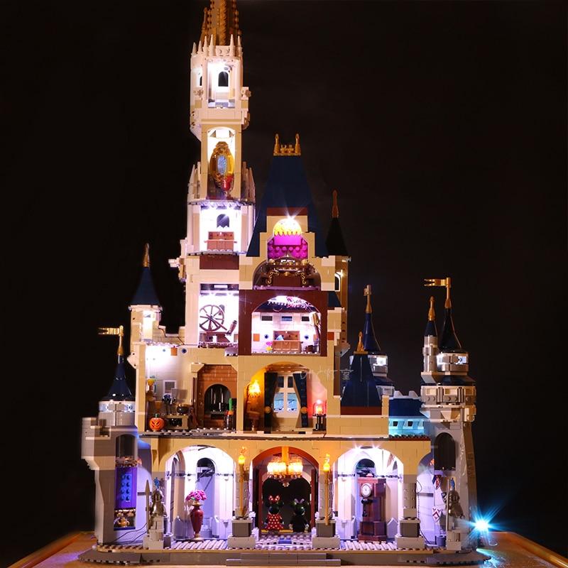 LEGO 71040 Led Light Cinderella Princess Castle Brick Kits