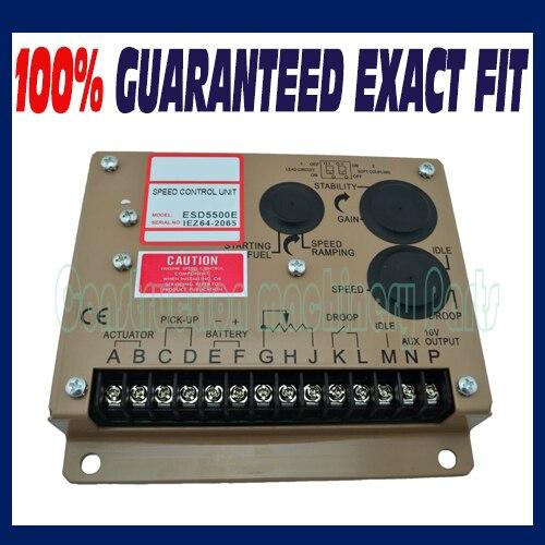ESD5500E régulateur de vitesse pour pièces de générateur d'alternateur Diesel accessoire