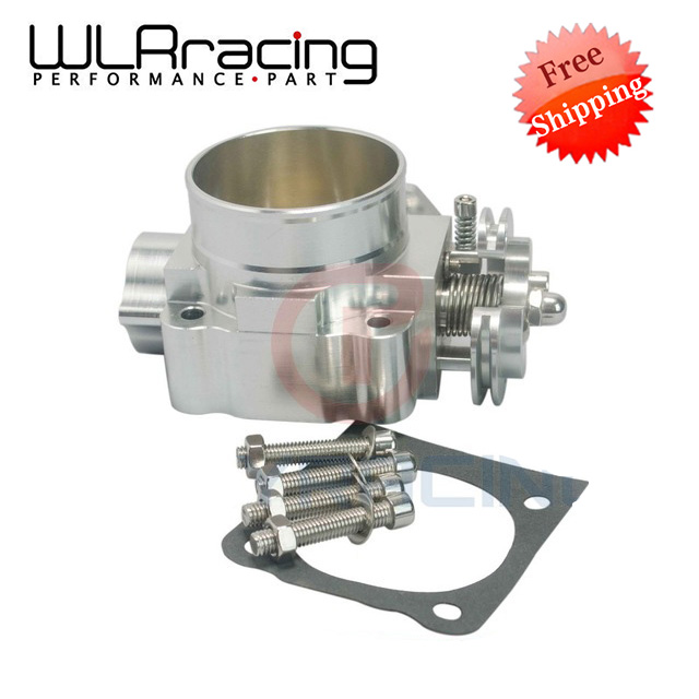 WLR RACING - FREE SHIPPING NEW THROTTLE BODY FOR MITSUBISHI LANCER EVO 1 2 3 4G63 TURBO S90 THROTTLE BODY 70MM 1992-1995 WLR6940 free shipping used throttle body for nissan 1 5 air damper restrictor [wx32]