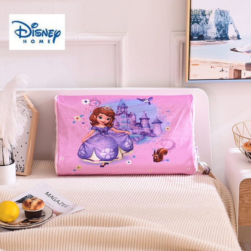 Home & Garden Purposeful 3d Latex Memory Pillow Disney Sofia Princess Pillow 100% Cotton Fabric Purple Girl Bedding Room Decor Sleeping Neck Care Soft Soft And Antislippery Pillows