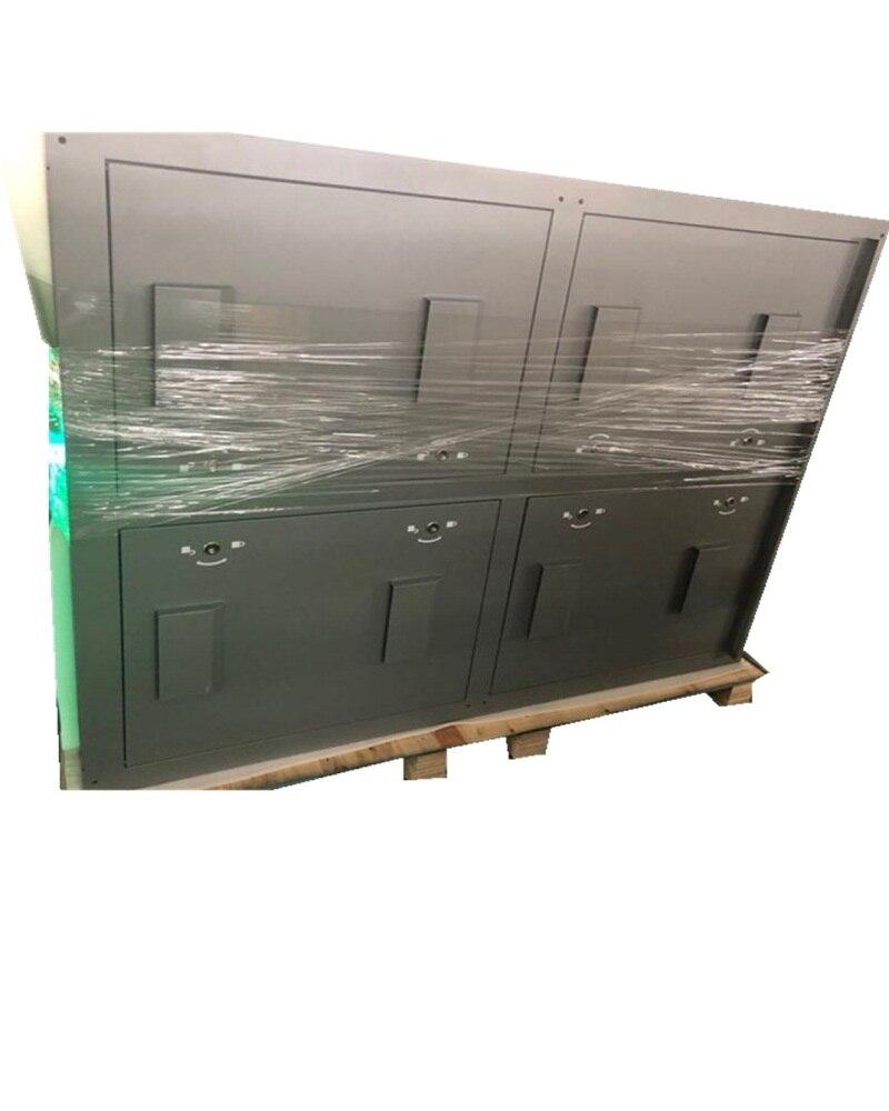32*16/16*16 points 960x960mm armoire de fer IP65 niveau de Protection SMD P10 affichage de LED polychrome pour écran LED de médias publicitaires