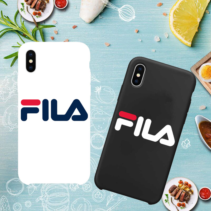 online store b4b1c 20524 Italy Sport Brand FILA Hard Matte Fundas For Iphone