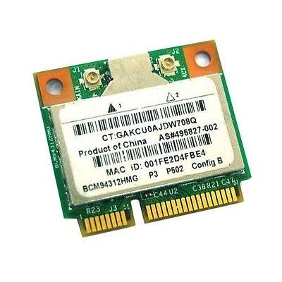 Wireless Adapter Card for Broadcom BCM94312HMG bcm4312 Wifi Half Mini Pci-e card BCM4312 PCI-E WLAN For HP Sps 504593-002(China)
