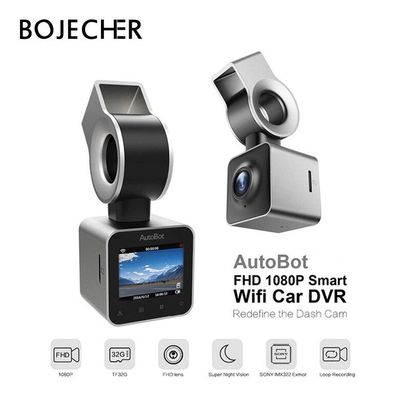 AutoBot G Mini Car Camera Wifi Car DVR Dashcam Video Recorder Blackbox Novatek 96658 IMX323 1.5''LCD Night Vision FHD 1080P WDR цены онлайн