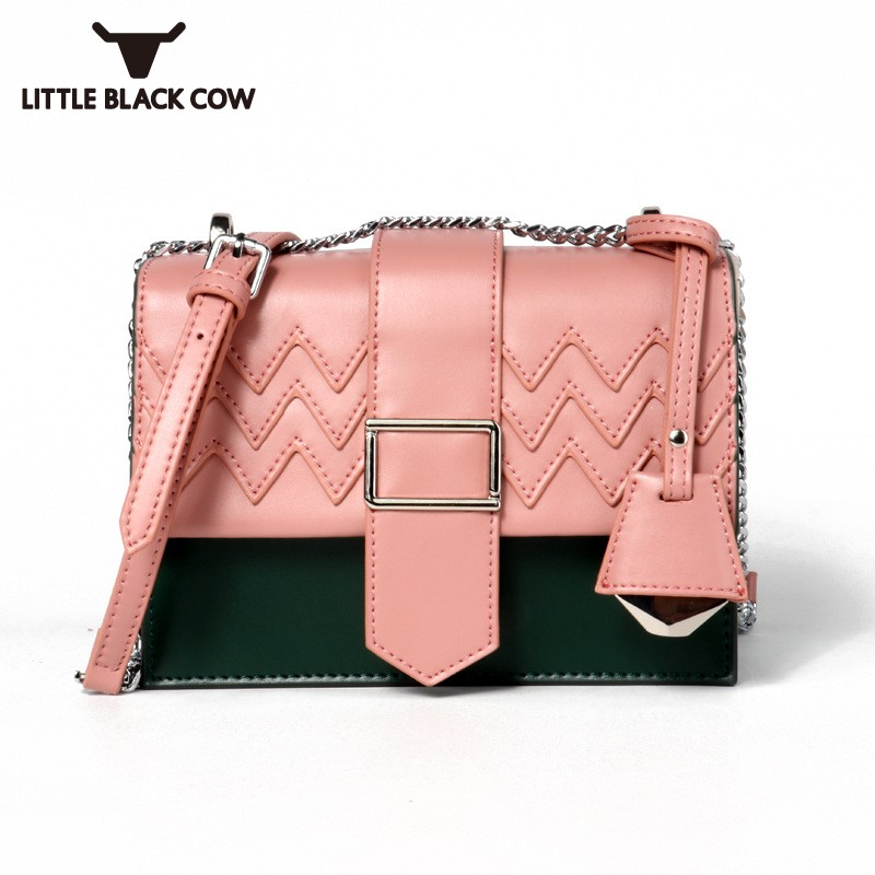 Brand Luxury Leather Shoulder Bags 2019 New Fashion Match Color Ladies Chain Crossbody Bags Elegant Party Female Shoulder BagsBrand Luxury Leather Shoulder Bags 2019 New Fashion Match Color Ladies Chain Crossbody Bags Elegant Party Female Shoulder Bags