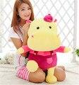 Nuevo PP de algodón grande de la correa hipopótamo de peluche de juguete muñeca hipopótamos almohada envío gratis