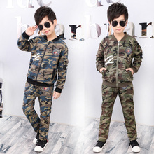 2017 Youngsters Clothes Units Boys Sports activities Fits Spring boy garments Camouflage clothes swimsuit four 6 eight 9 10 12 13 14 Years children garments