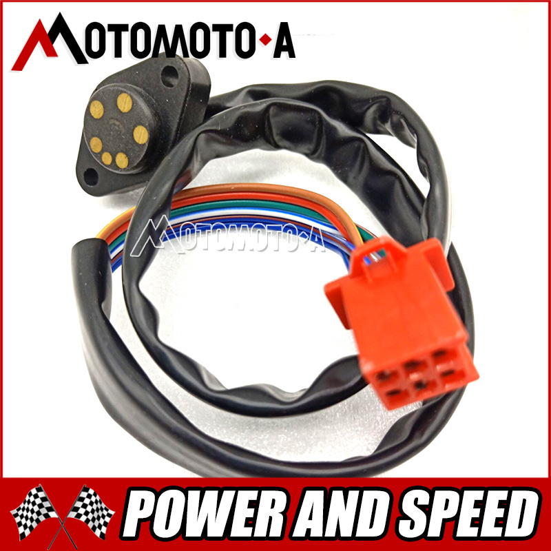 Motorcycle CG125 Gear Lever Indicator Position Shift Sensor Stall Cable Line For Honda 125cc CG 125 Gear Sensor Part (4 Degree)