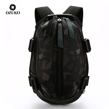 OZUKO Mochila Oxford impermeable con carga USB para hombre, morral escolar resistente al agua para adolescentes, para ordenador portátil de 14 y 15,6 pulgadas