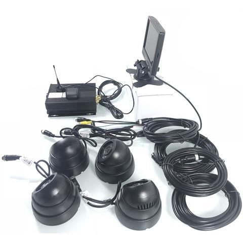 cartao sd 4 canal panoramica kit de monitoramento