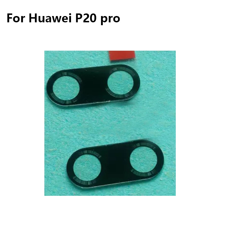 2PCS For Huawei P 20 Pro P20 Pro  Replacement Back Rear Camera Lens Glass For Huawei P20pro P 20 Pro