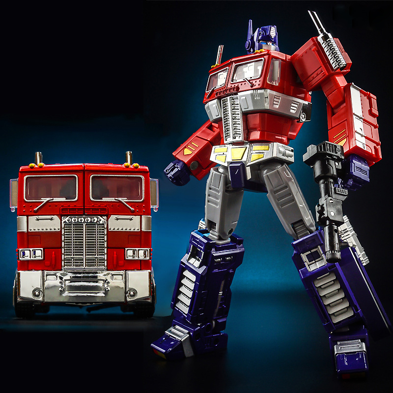 18cm Cool Model Transformation G1 Robot ABS Metal Alloy OP MPP10V Commander Diecasts MasterPiece Collection Action Figure Gifts weijiang deformation mpp10 e mpp10 eva purple alloy diecast oversized metal part transformation robot g1 figure model in box