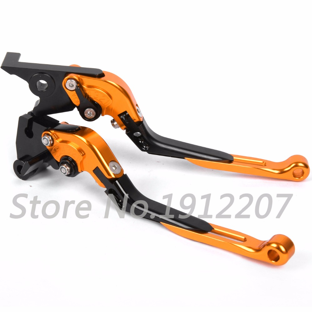 ФОТО For KTM 690 SMC 2014-2015 Foldable Extendable Brake Clutch Levers Aluminum Alloy CNC Folding&Extending High Quality Hot Selling