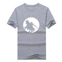 Legend of Zelda Ligação Epona Equitação Camiseta Nintendo Twilight Princess HD Ocarina of Time homens T-shirt 1204-4 TODAS AS cores