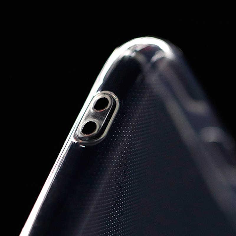 شفافة الهاتف اغلفة السامسونج ملاحظة 9 8 S8 s9 plus S7 A3 A5 A7 2016 A6 A8 J3 J5 J7 J4 J6 j8 2018 حالة لينة غطاء كوكه كابا