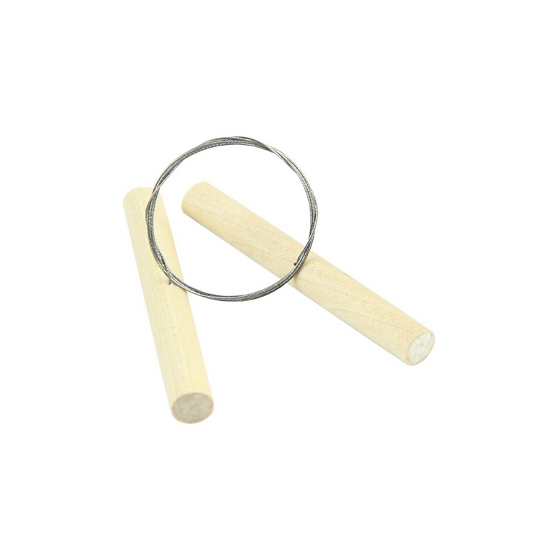 Perfect  Wood Knife Wire Clay Cutter For Fimo Sculpey Plasticine Cheese Pottery Tool Ceramic Dough