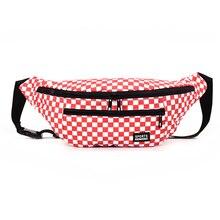 Ladies Fashion Waist Fanny Pack Women PU Leather Belt Zipper Waist Bag A Cold Wall Chest Rig Bag Money Belt Waist Packs