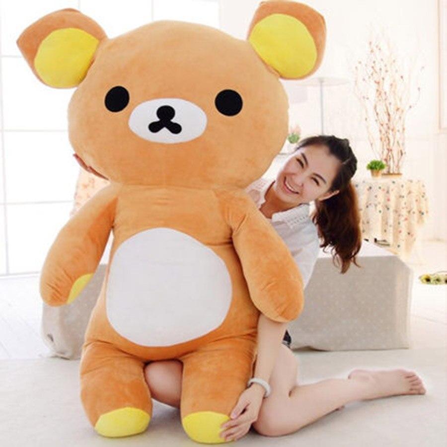 Cute Animal Soft Stuffed Plush Toys Bear Easy Kawaii Peluches De Animales Brinquedos Educativos Gift Present 70C0031